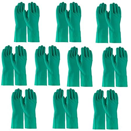 Chem Guard NF1513 – Nitrile Flocklined Gloves Set of 10 Pairs