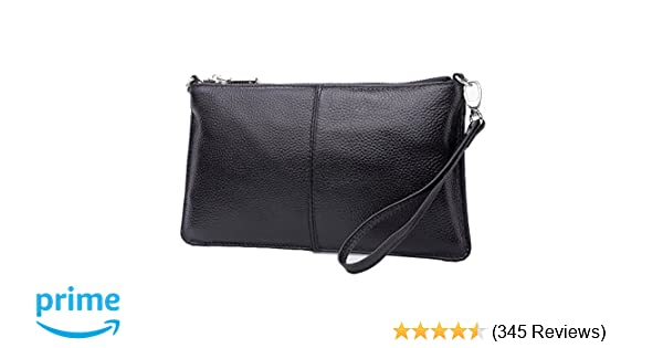 Lecxci Leather Crossbody Purses Clutch Phone Wallets with Card Slots for  Women 1c0bd5a02f5ad