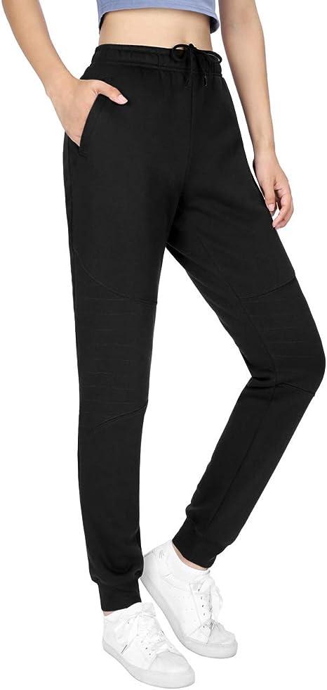 DISHANG Pantalones de chándal livianos para Mujer Pantalones de ...
