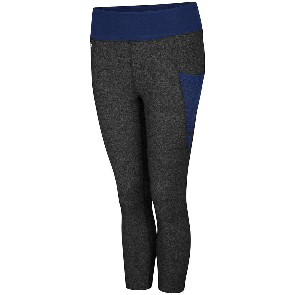 e266abd9f13db Amazon.com : Women's Penn State Nittany Lions WallFlower Capri Yoga Pants :  Clothing