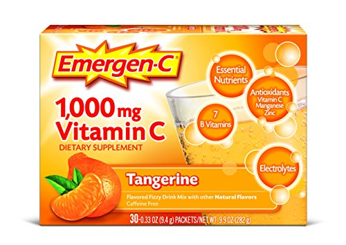 076314302024 - Emergen-C Vitamin C Drink Mix Packets Tangerine 30 Each (Pack of 6) carousel main 0