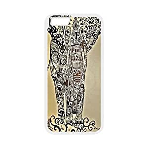 Big elephant art Pattern Hard Snap Cell Phone Case for For Iphone Case 6 5.5 Inch color18 by runtopwell