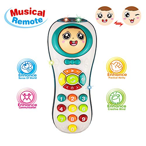 Learning Toys 12 24 Year Old Baby Girl Educational Remote 1 3 Olds Boys