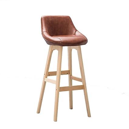DXZ-Taburete de bar Retro Bar Chair Sillón de Taburete ...