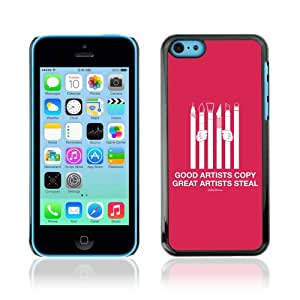 YOYOSHOP [Funny Message For Artists] Custodia Case Cover per Apple iPhone 5C
