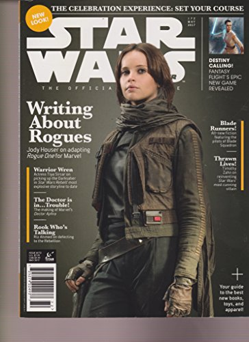STAR WARS INSIDERS MAGAZINE #172 MAY 2017, WRITING ABOUT ROGUES, NO LABEL.