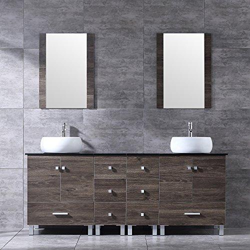 Double Ceramic Sink - Sliverylake 72