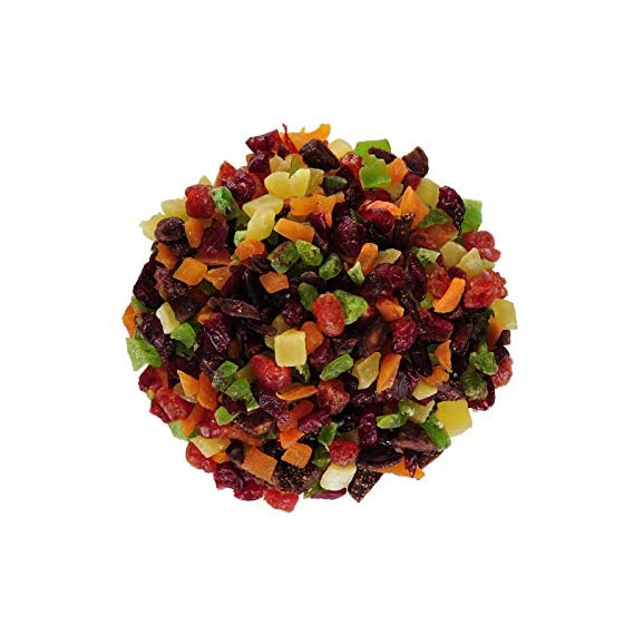 Berries And Nuts Candied Mixed Dried Fruits | Sun Dried Fruits | Healthy & Tasty | 250 Grams