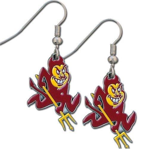 NCAA Arizona State Sun Devils Dangle Earrings