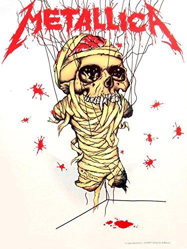 Metallica - One Textile Poster - 30