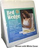MDS Medical - Foam Wedge Bed Pillow 24'' x 24'' x 7''. Comes w/white pillow cover