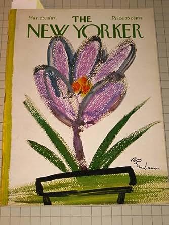1967 The New Yorker Magazine: S.J.Perelman - Ted Hughes - New York Rangers Ice Hockey - Roger Angell