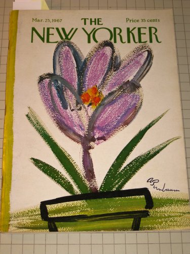 1967 The New Yorker Magazine: S.J.Perelman - Ted Hughes - New York Rangers Ice Hockey - Roger Angell