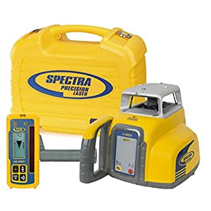 Spectra Precision Laser LL300N Automatic Self-leveling Level w/HL450 Receiver, Alkaline Batteries