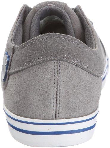 K-Swiss HWD VNZ 02685-090-M - Zapatillas de ante para hombre, color negro, talla 44,5 Gris