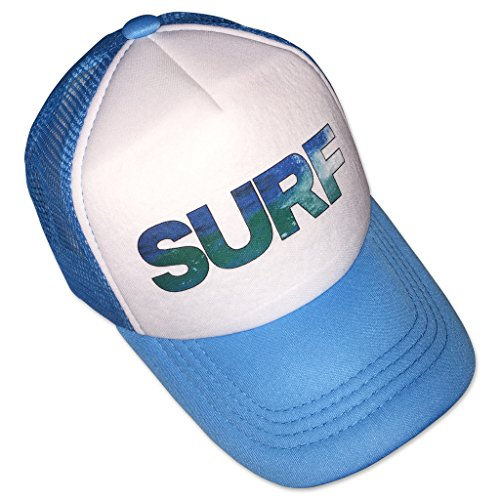 Sol Baby SURF Image Trucker Hat-M-Blue