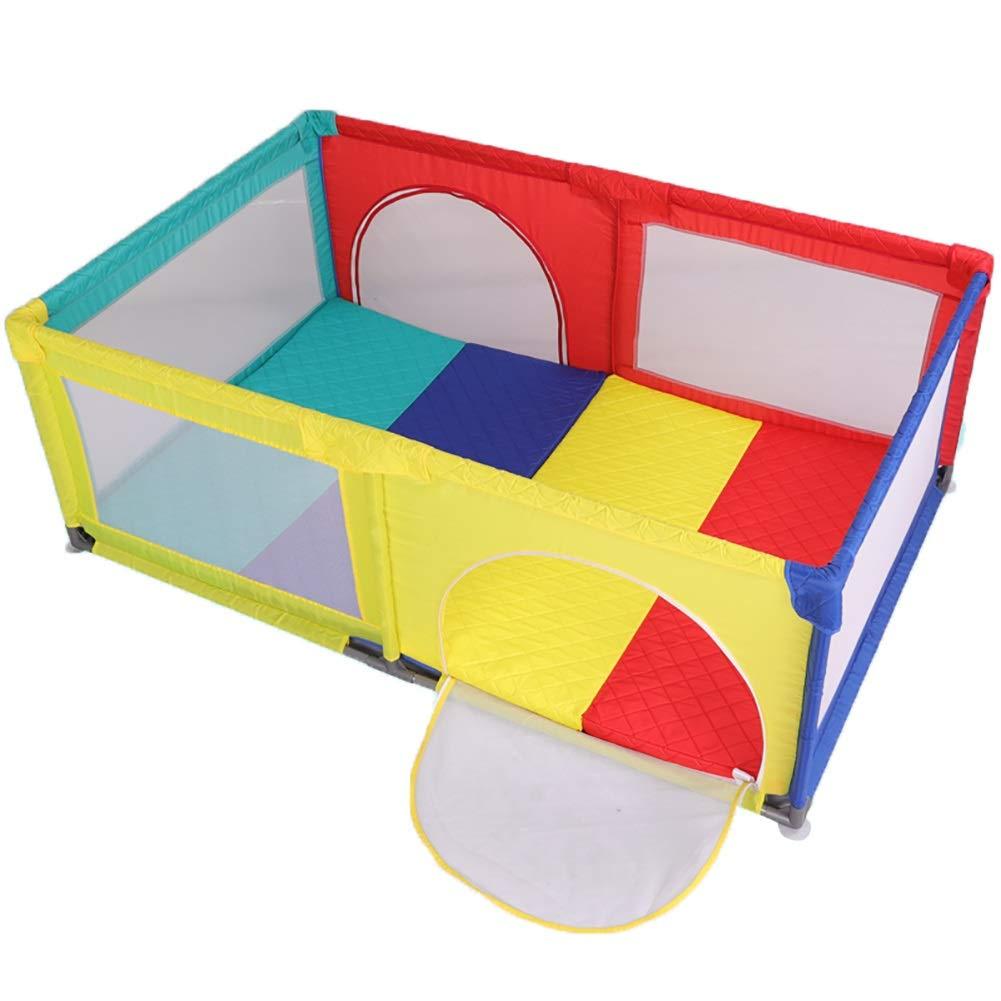 ランキング第1位 -ベビーサークル さいず 多色赤ん坊のベビーサークル、子供幼児屋内屋外の安全ゲームのPlayardの塀、70 cmの高さ (サイズ さいず : 120×190cm) B07Q18X3SN (サイズ 120×190cm B07Q18X3SN, 換気扇の激安ショップ プロペラ君:0847a05a --- a0267596.xsph.ru