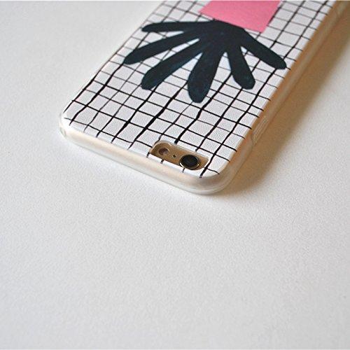 iPhone 6S Schutzhülle, pictureslab Weich TPU Kunst Malerei Schutzhülle für iPhone 6/6S 11,9cm