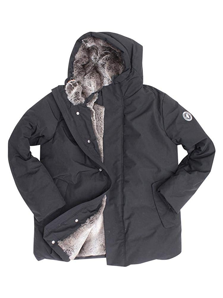 big sale dc16c dbdac Save The Duck Mens Puffer with Faux Fur at Amazon Men's ...