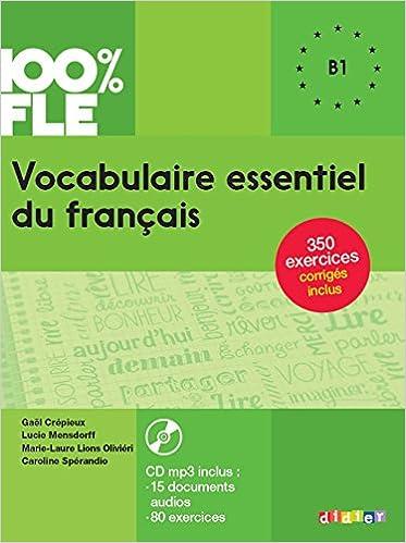 Livres Gratuits Amazon Vocabulaire Essentiel Du Francais