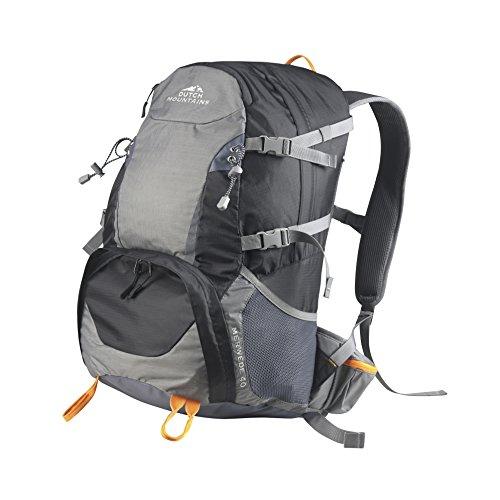 Dutch Mountains Backpack Wanderrucksäcke Rucksäcke Taschen Trekkingsrucksäcke Merwede 40L Schwarz WvvTn