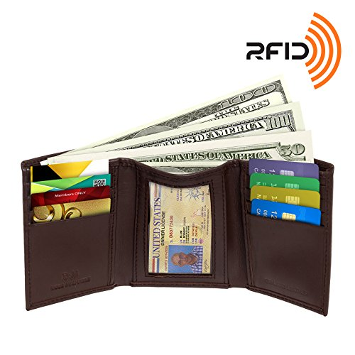 rfid-blocking-wallet-for-men-rfid-trifold-leather-wallet-by-ross-michaels-brown
