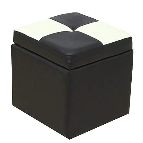 Surprising Amazon Com Grjxmd Folding Portable Ottoman Storage Box Dailytribune Chair Design For Home Dailytribuneorg