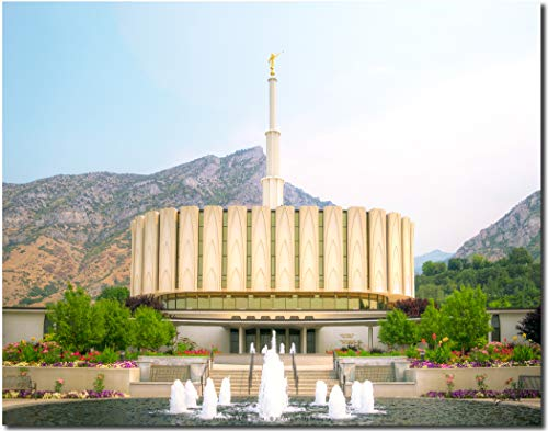 Latter-day Strengths Provo, Utah LDS Temple - 14