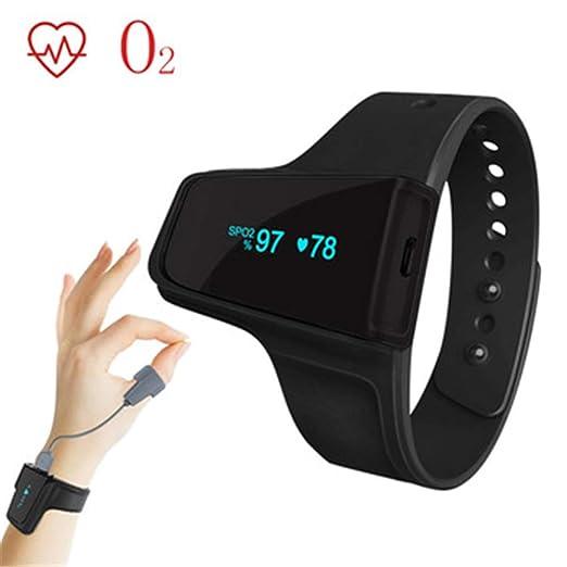Oxímetro de pulso Pulsera Oxímetro de pulso Monitor de ritmo ...