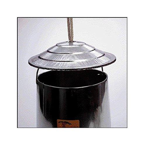 galvanized metal chicken feeder - 3