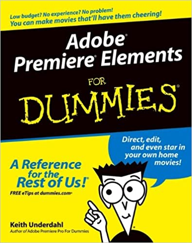Book Adobe Premiere Elements For Dummies