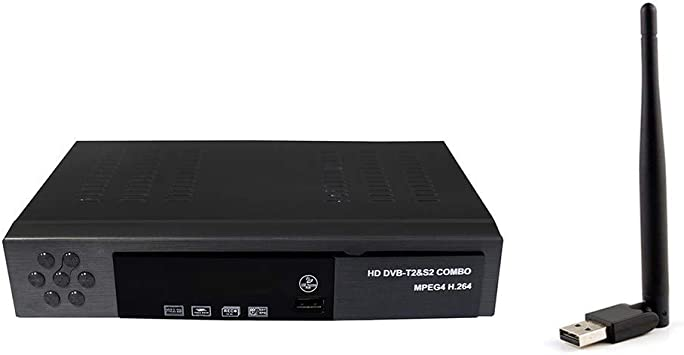 SODIAL Sintonizador Digital de satélite, Receptor de TV, Dvb ...