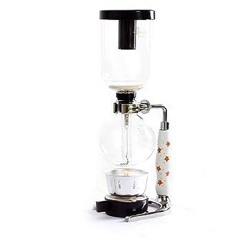Cafetera Sifón de 5 personas para uso doméstico Cafetera de vidrio Cafetera manual con sifón,