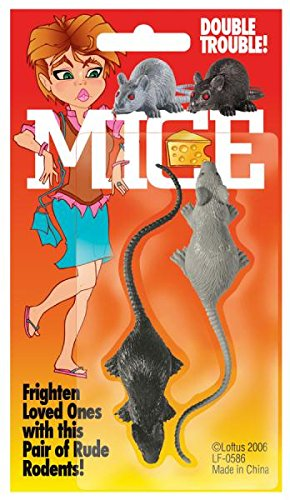 Morris Costumes Mice Carded Two Mice
