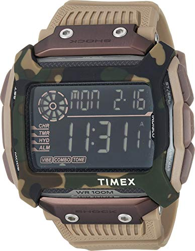 - Timex Men's Command Digital Sand 1 One Size