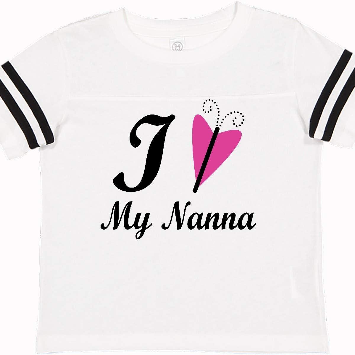 inktastic I Love My Nanna Toddler T-Shirt