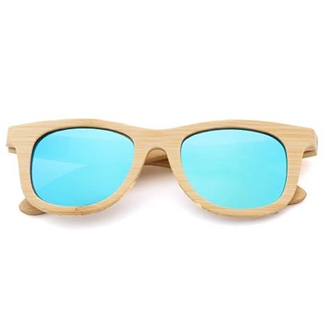 Gafas de Sol de Madera Gafas de protección de bambú ...