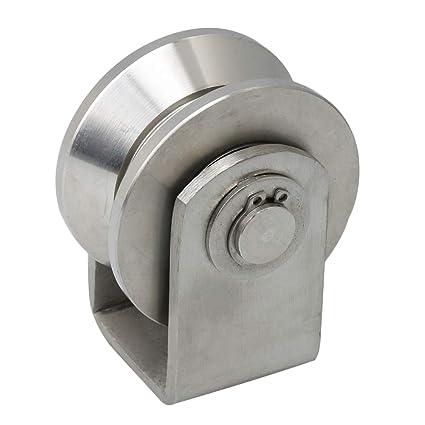 BQLZR - Polea de acero inoxidable tipo V tipo 201 (6,3 x 7,8 ...