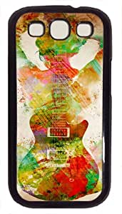 Handmade Designed Protective Case For Samsung Galaxy S3 with guitar-siren Hard Case