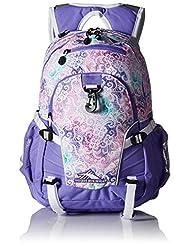 High Sierra Loop Backpack, Delicate Lace/Lavender/White