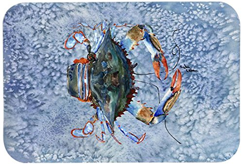 Caroline's Treasures 8149-JCMT'Crab' Kitchen or Bath Mat, 24' by 36', Multicolor