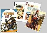 Motorbike Art Playing Cards
