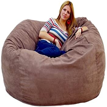 Amazoncom Cozy Sack Feet Bean Bag Chair Large Earth Kitchen - Cozy chill bag