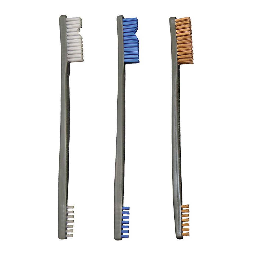 Otis 316-3-NBBZ Variety Pack All Purpose Receiver Brushes (1 Each, Total 3)