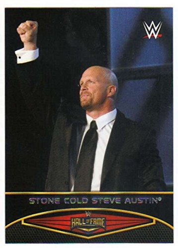 2015 Topps WWE Road to Wrestlemania Hall of Fame #23 Stone Cold Steve Austin NM to Mint or Better