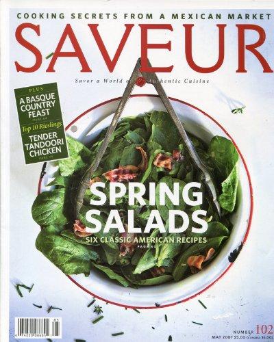 Saveur Magazine, No. 102 (May 2007) (Riesling 2007)