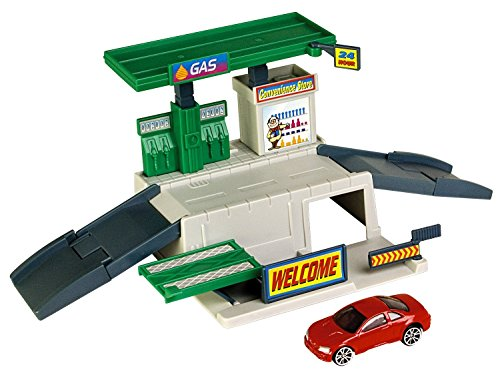 Motormax Dyna City Playset   Gas Station