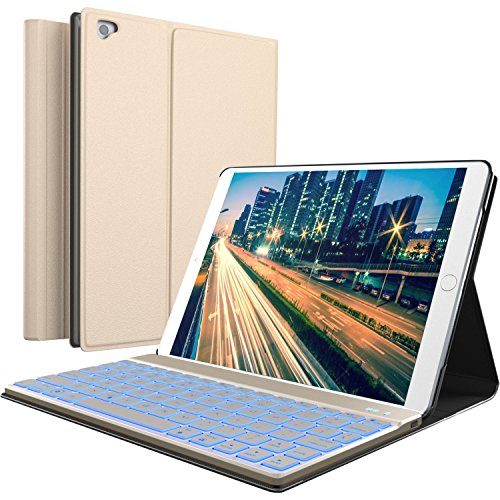 Buy Cheap iPad Keyboard Case for New 2018 iPad, 2017 iPad, iPad Pro 9.7, iPad Air 1 and 2 – BT Bac...