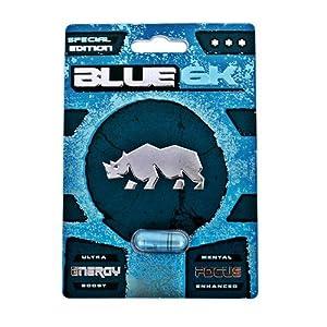 NEW PREMIUM BLUE 6K All Natural Male Enhancement Sex Libido Stamina Energy Booster (Multi Packs) (3)
