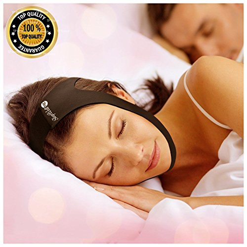 SleepWell Pro Adjustable Stop Snoring Chin Strap - Advanced Snoring Aid Scientifically Designed To Stop Snoring Naturally and Give You The Best Sleep of Your Life